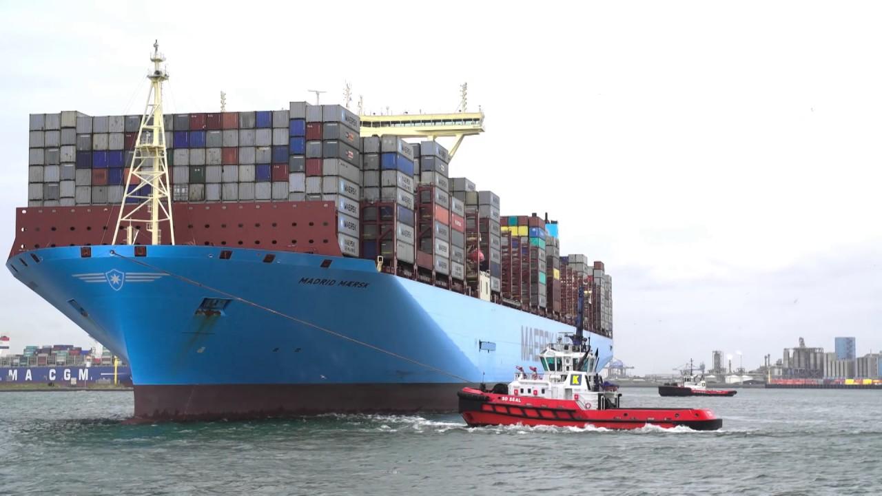 Arrival Madrid Maersk