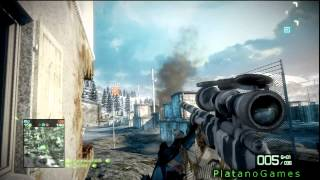 Battlefield: Bad Company 2 - Online Multiplayer Long Play - Conquest Mode - HD
