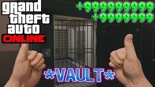 GTA 5 Online *SECRET* Bank Vault LOCATION - GTA 5 (Xbox One, PS4, PS3, Xbox 360 & PC)
