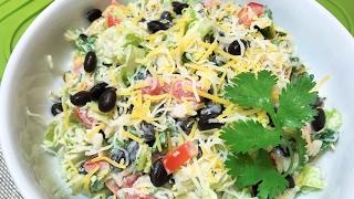 Салат вечерний  ВКУСНЫЙ УЖИН. Salad Delicious Dinner