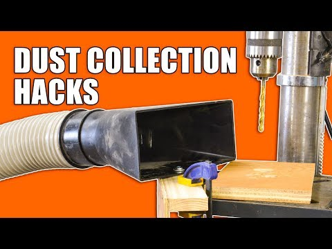 5 Quick Dust Collection Hacks: Woodworking Tips and Tricks