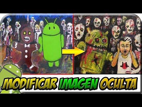 Modificar y Probar Imagen Oculta Android Gingerbread