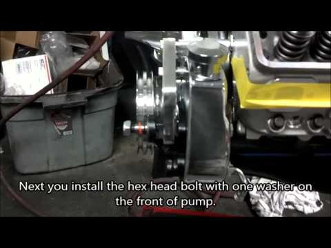 Skip White Performance How to Install a Power Steering Pump