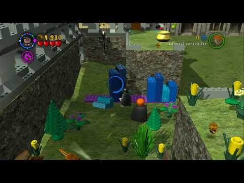 LEGO Harry Potter Years 1-4 - Gringotts Vault - Bonus Level #10 - Gold Brick #200