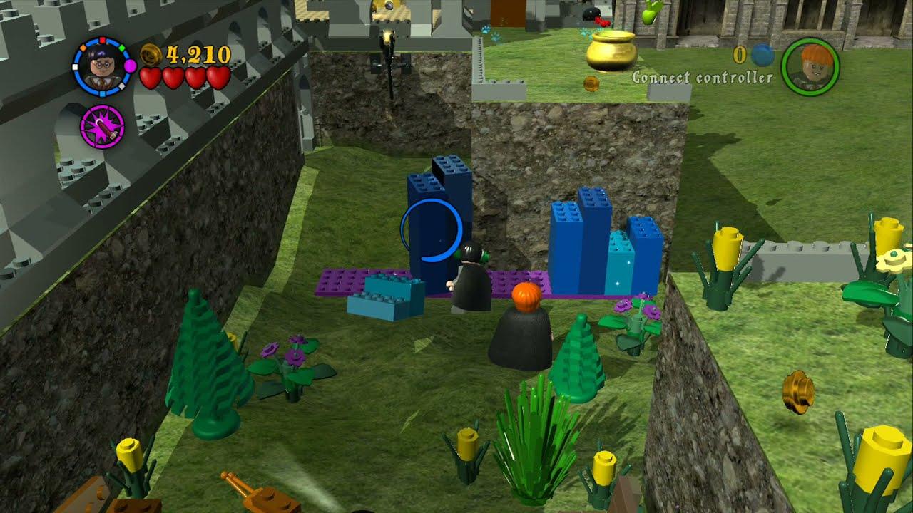 Lego Harry Potter Years 1 4 Gringotts Vault Bonus Level 10 Gold Brick 200 Youtube
