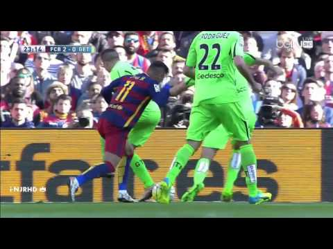 Neymar super skills vs Getafe.