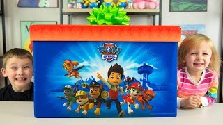 HUGE Paw Patrol Surprise Present from Santa Claus Christmas Toys for Boys Blind Bags Kinder Playtime