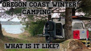 Oregon Coast Winter Camping...what iṡ it like?