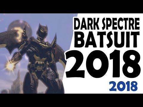 DCUO; Dark Spectre Batsuit 2018