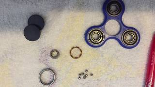 How to fix a broken fidget spinner(Easy).