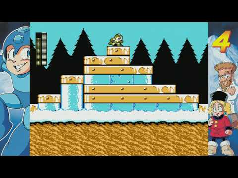LP Mega Man Legacy Collection part 25 - MM4 - Russian Attack Slinkies  
