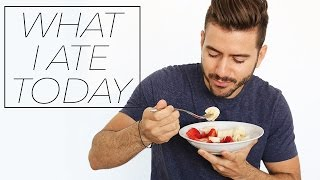 WHAT I ATE TODAY | MEN