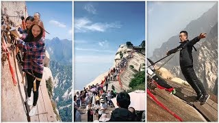 Đường lên đỉnh Hoa Sơn (Video không dành cho người yếu tim)