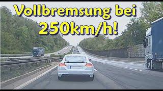 255km/h auf der LANDSTRAßE, Road-Rage, Nötigung und verrückter FLIXBUS   DDG Dashcam Germany   #244