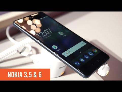 First look at the Nokia 3, Nokia 5, and Nokia 6
