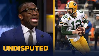 Aaron Rodgers not being named in the Top 50 is 'utterly ridiculous'! — Shannon | NFL | UNDISPUTED
