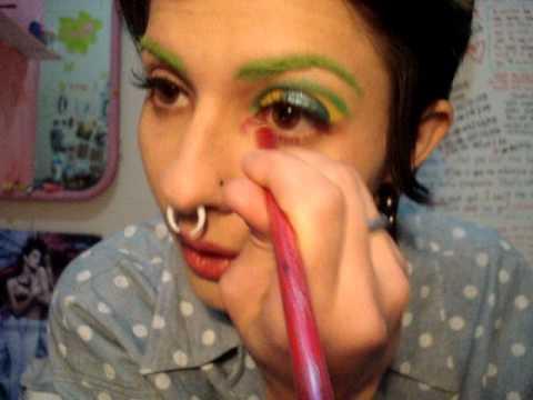 tutorial: maquiagem arco- iris
