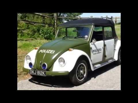 Coachbuilt VW - 1972 Classic VW Beetle 4-Door Cabriolet + Polizei + Police - RHD
