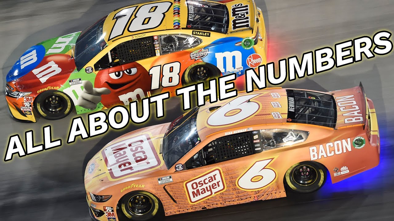 NASCAR All About the Numbers