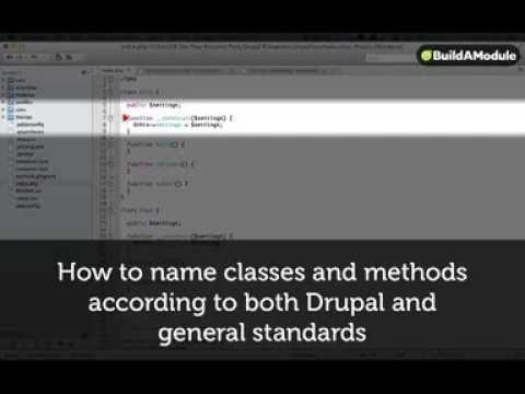 How to name classes and methods according to both Drupal and general standards