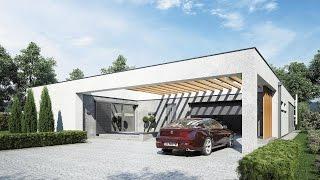 Projekt Domu HORIZONTAL Pracownia Projektowa Studio Atrium