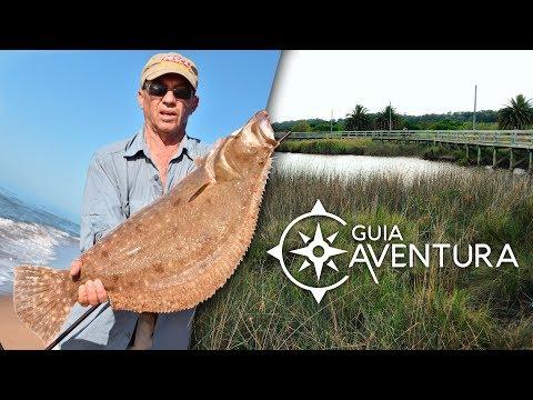 Guia Aventura - Pesca Lenguados Uruguay y Humedales del Santa Lucia