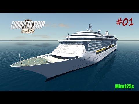 European Ship Simulator #01 - w/FaceCam