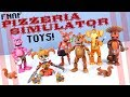 Five Nights At Freddy S Pizzeria Simulator Action Figures Funko Toys Review mp3