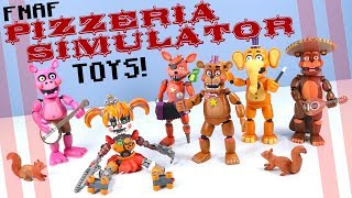Five Nights at Freddy's Pizzeria Simulator Action Figures Funko Toys Review