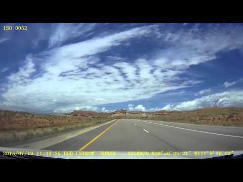 A drive from Denver, CO to Las Vegas, NV