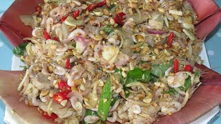 Video Shrimp,Pork Salad With Banana flower Recipe - Khmer Cooking Style By Kimyee Ros Cooking download MP3, 3GP, MP4, WEBM, AVI, FLV Desember 2017