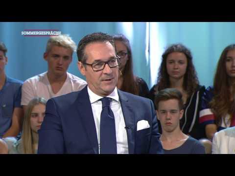 Sommergespräch mit Heinz Christian Strache