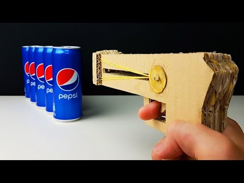 Thumbnail: How To Make a Rubber Pistol from Cardboard!