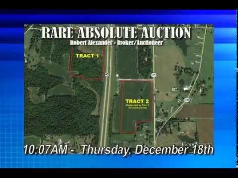 *RARE Auction Group* +/-44 Acres Commercial & Residential Absolute Estate Auction