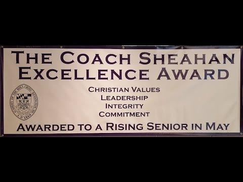 2016 Academy of the Holy Cross Coach Sheahan Award