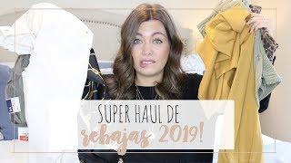 SUPER HAUL REBAJAS 2019 ♡ ZARA, MANGO, ... | Rebeca Chamorro