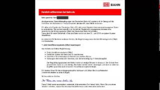 PHISHING-ATTACKE: Perfekte Fake-Mails an Bahnkunden
