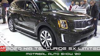 2020 KIA Telluride SX Limited - Exterior And Interior - Montreal Auto Show 2020