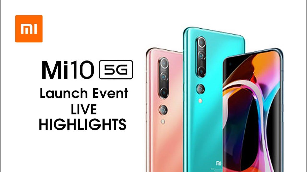 Xiaomi Mi 10 / Mi 10 Pro 5G China Launch Event in 20 minutes