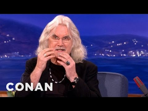 Thumbnail: Billy Connolly Smoked A Bible - CONAN on TBS