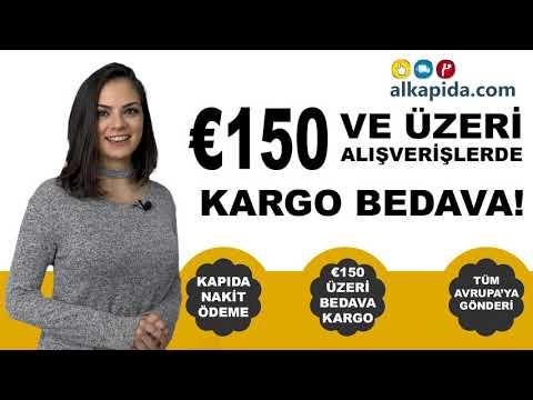 Yapacağınız €150 ve Üzeri Alışverişlerde Kargo BEDAVA!