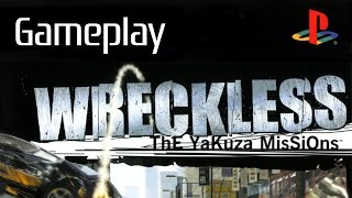 Obscure Games: Wreckless: The Yakuza Missions - PS2 Gameplay