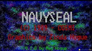 Navy Seal gameplay (PC Game, 1989)