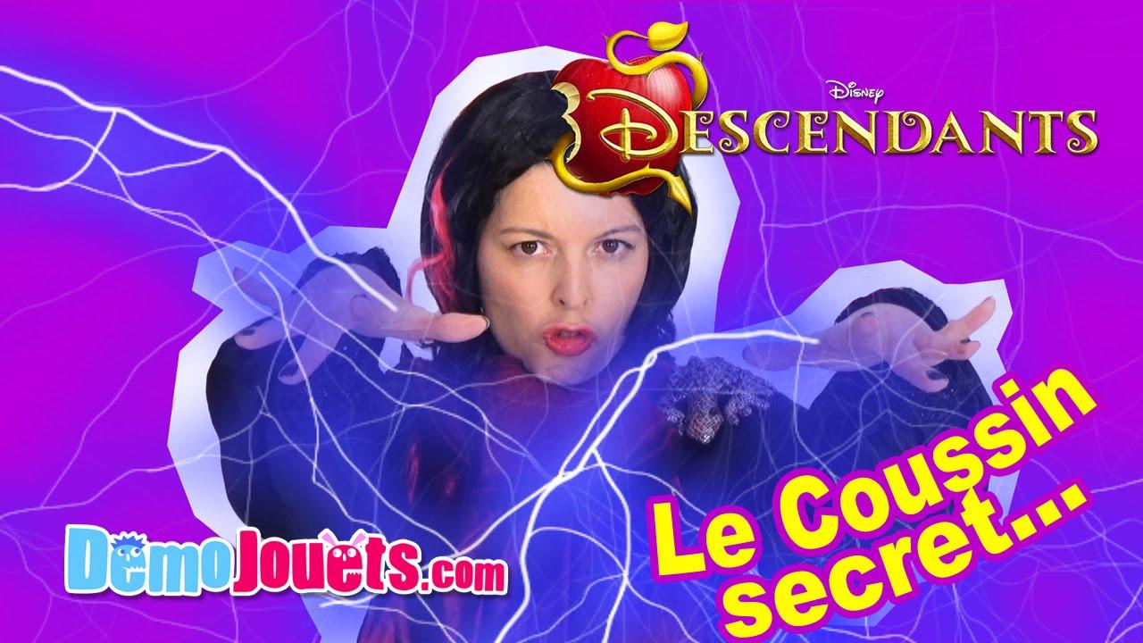 Descendants Disney Coussin Secret Dmo Jouets YouTube