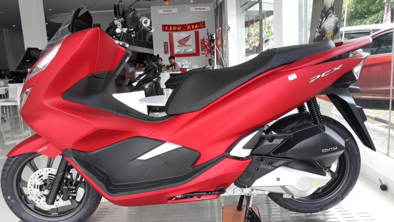 Honda Pcx 150 Warna Merah 2018 Youtube