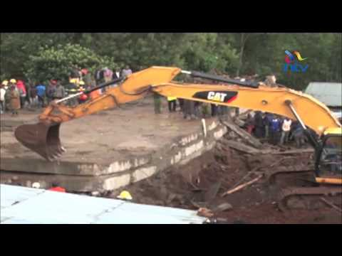 40 injured as four storey building collapses in Nandi County