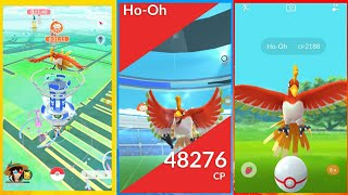 FIRST EVER HO-OH RAID!!! // DID I CATCH IT?!