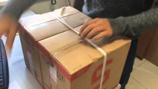 Крепим упаковочную ленту с помощью пряжки(Этот ролик обработан в Видеоредакторе YouTube (https://www.youtube.com/editor), 2016-04-06T11:45:55.000Z)