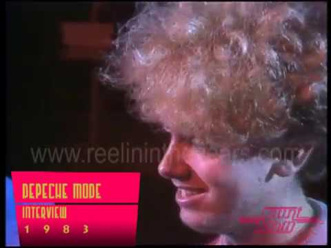 Depeche Mode- Interview on Countdown 1983