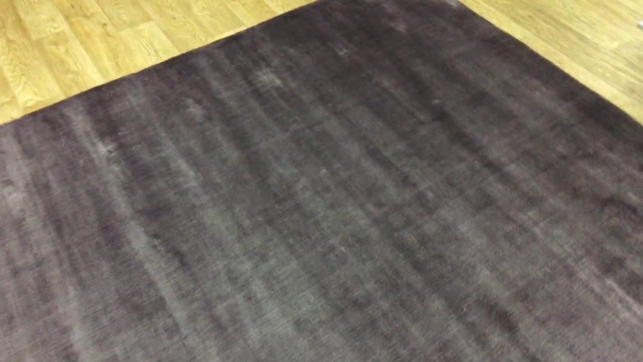 Linie Designs Lucens Purple Rug - YouTube